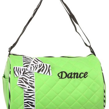 Chic Dance zebra Duffel Bag