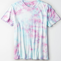 AE DYE EFFECTS T-SHIRT, Light Blue