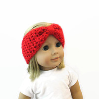 Doll Accessories Turban Headband Red