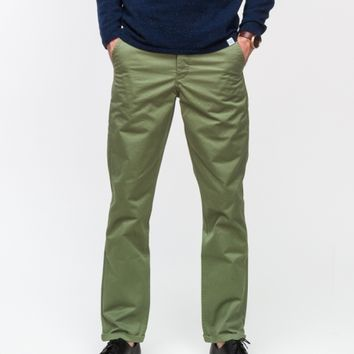 Norse Projects Aros Heavy Chino in Pale Moss
