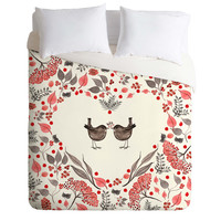 Monika Strigel The Gift Duvet Cover