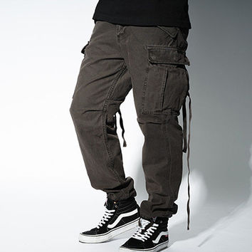 Strong Character Stylish Design Casual Pants [8822220547]