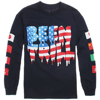 Been Trill Trill Flag Long Sleeve T-Shirt at PacSun.com