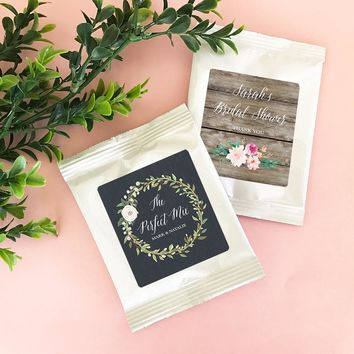 Personalized Floral Garden Hot Cocoa + Optional Heart Whisk
