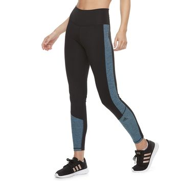 Women's adidas Believe This Space-Dye High-Waisted Ankle Leggings