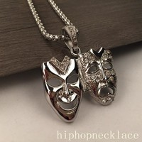 New Arrival Gift Stylish Shiny Jewelry Club Hip-hop Necklace [6542762947]