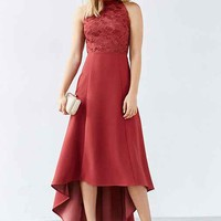 Keepsake All Talk Lace Dress