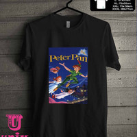 Peter pan disney poster T-Shirt for man shirt, woman shirt **