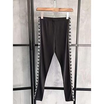 Adidas Women Fashion Running Leggings Sweatpants