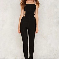 At a Crossroads Cutout Jumpsuit