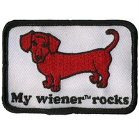 My Wiener Rocks Patch