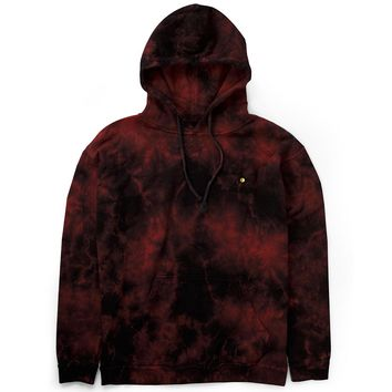 Mister Resist Dye Hoodie - Midnight Red