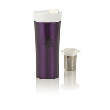Purple Morgan Stainless Steel Tea Tumbler at Teavana | Teavana