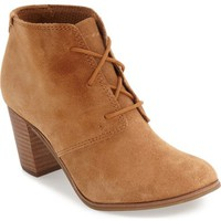 TOMS 'Lunata' Lace-Up Bootie (Women) | Nordstrom