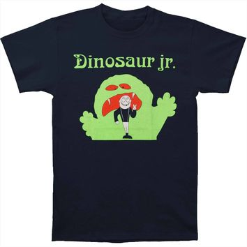 Dinosaur Jr Men's  Monster T-shirt Blue