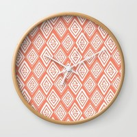 Diamond In The Rough Wall Clock by Heather Dutton