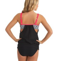 Inner Chakra Tankini And Good Karma Retro Bikini Bottom