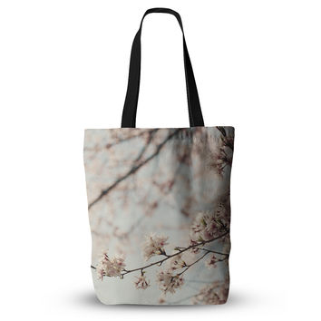 "Catherine McDonald ""Japanese Cherry Blossom"" Everything Tote Bag"