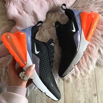 Nike Air Max 270   Women's Air Cushion Sports Shoes