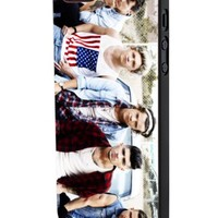 One Direction Cool Photo Megazine 2 Custom Case for Iphone 5/5s Iphone 6/6 Plus Black and White (iPhone 5/5s Black Plastic)