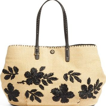 Tory Burch Kerrington Straw Tote | Nordstrom