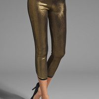 Riller & Fount Hank Dolphin Legging in Bronze/Black from REVOLVEclothing.com