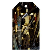 Daggers, Dirks and Sabres Pack Of Gift Tags
