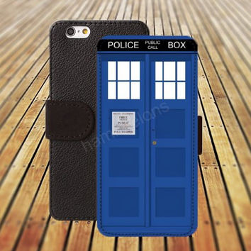 iphone 5 5s case TARDIS blue door iphone 4/4s iPhone 6 6 Plus iphone 5C Wallet Case,iPhone 5 Case,Cover,Cases colorful pattern L231