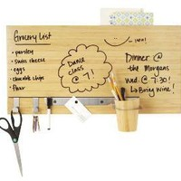 BAMBOO DRY ERASE WALL PANEL