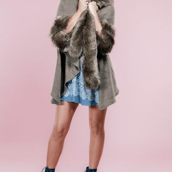 Brin Fur Cardigan