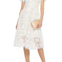 Cotton Lace Dress | Moda Operandi