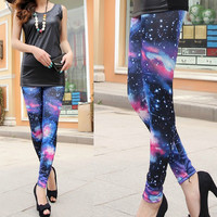 A 082828 s Fashion wild cotton was thin Leggings