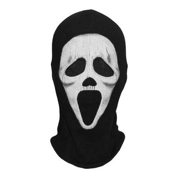 DCCKH6B Scream Tactical Military Army Death Grim Reaper Ghost Party Halloween Costume Cosplay Winter Warmer Balaclava Full Face Masks