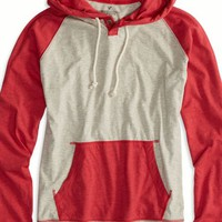 AEO Men's Colorblocked Hoodie T-shirt