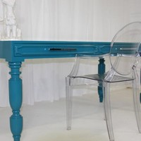 www.roomservicestore.com - South Beach Desk in Turquoise