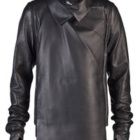 Rad Hourani Black Transformable Glove Jacket