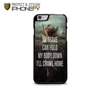 Hozier Work Song Lyric iPhone 6 Plus Case|iPhonefy
