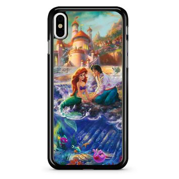 Disney Paintings Ariel The Little Mermaid iPhone X Case