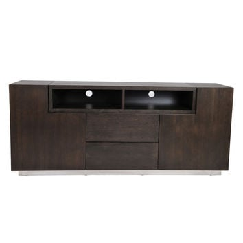 Pangea Home Matrix Tall Buffet - Brown