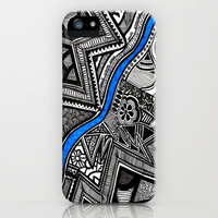 Flow  iPhone Case by Creative Chaos | Society6
