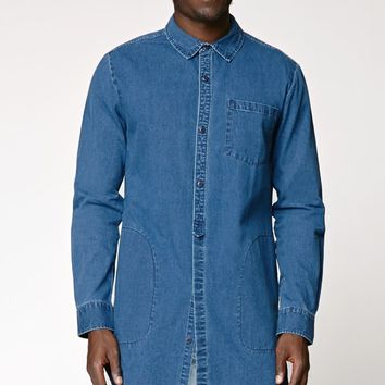 Reign Storm Extreme Long Denim Shirt - from PacSun | Quick Saves