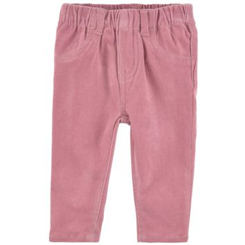 Stella McCartney Baby Girls Ribbed Pink Pants
