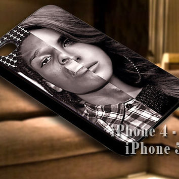 Asap Rocky Lana Del Rey for iPhone case-iPhone 4/4s/5/5s/5c case cover-Samsung Galaxy S3/S4/ case cover