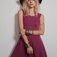 Free People Womens Boom Boom Fit and Flare Dress