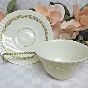 Lenox china Dinnerware Pattern #O315 Lonsdale 1 cup and saucer set MRSP 56.00