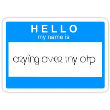Crying over otps T-Shirts & Hoodies
