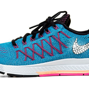 Nike Air Zoom Pegasus 32 - Crystallized Swarovski Swoosh - Blue