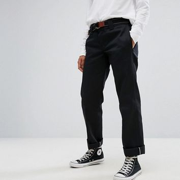 Dickies Wide Leg Boyfriend Chinos at asos.com