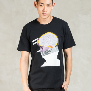 UNDERCOVER Black Brain' Graphic S/S T-shirt | HBX.