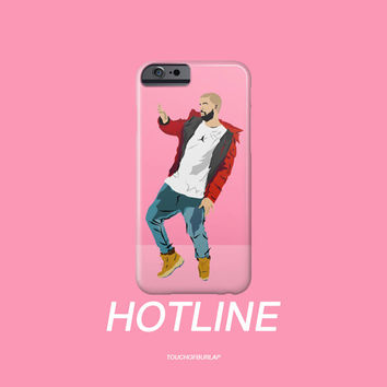 Drake Hotline Bling Dancing Illustration OVO Apple IPhone 4 5 5c 6 6s Plus Galaxy Note Case 6 God XO Weeknd Views